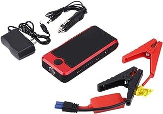 Auto Sprungs Starter, 50800mAh Tragbar Größen Notstarter Automatische Energie Bank Fahrzeug Batterie Stromversorgungs Ladegerät Energie Verstärker, rot