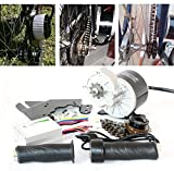 L-faster 24V36V 350W Elektromotor Kit Elektroroller Conversion Kit DIY E-Bike SELBST GEMACHT Electric Bike EBike Motor (24V350W)