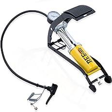 VelVeeta Steel Air Foot Pump Heavy Compressor for Bike, Car and Cycles
