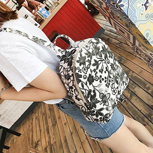 Dairyshop zaino donna Sacchetto zaino della spalla sacchetti scuola dello zaino modo per ragazzi adolescenti (1) 2