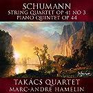 Streichquartett Op. 41,3 / Klavierquintett Op. 44