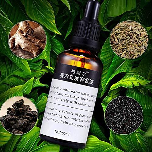 P12cheng Haarwachstums-Serum, ätherisches Öl, 50 ml, organisches Haar, schnelles Wachstum, Essenz, Flüssigverdickung, Maximizer, Behandlungsöl für die Pflege des Haares, 50 ml -