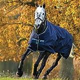 Horseware Amigo Bravo 12 - Winterdecke oder Regendecke 140cm 400g- Füllung navy/navy & white