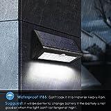Albrillo LED Solarleuchte mit Bewegungsmelder - 4