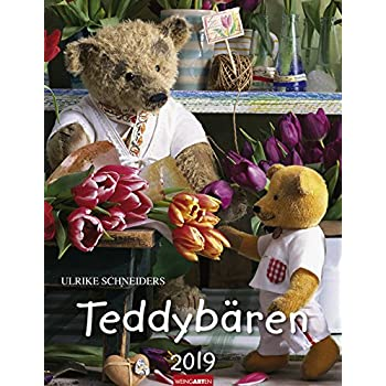 Calendar Weingarten Teddy 2019 Schneiders Ulrike Bears Verlag kXTPuZOi