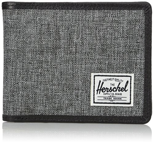 Herschel Taylor Raven Crosshatch/Black Leather