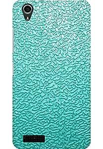 AMEZ designer printed 3d premium high quality back case cover for Lenovo A3900 (Light blue pattern)