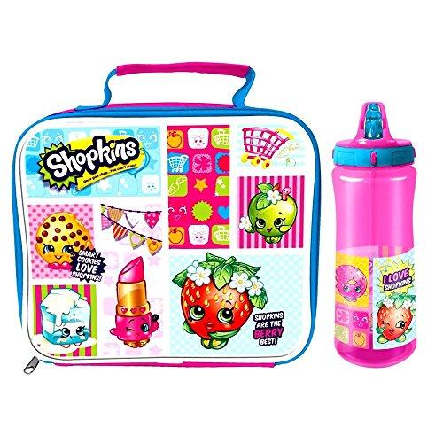 Shopkins Lunch Bag & Europa Bottle Set by Spearmark