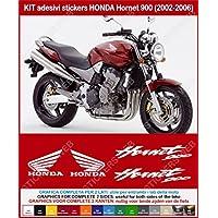 Adesivi HONDA Hornet 900 2002-2006 stickers carena replica compatibili Cod. 0345