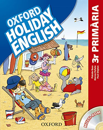 Holiday English 3º Primaria: Pack (catalán) 3rd Edition (Holiday English Third Edition)