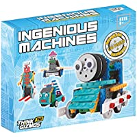 Building Set For Kids - Ingenious Machines Remote Control Toy Building Kit - TG632 Awesome Fun Robot Kit & Construction Toy by ThinkGizmos ? (All batteries included) by Thinkgizmos
