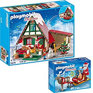 playmobil weihnachten 2 teiliges set 5976 zuhause beim. Black Bedroom Furniture Sets. Home Design Ideas