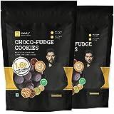 Ketofy - Choco Fudge Keto Cookies (2x200g) | Gluten-Free Intense Choco Indulgence