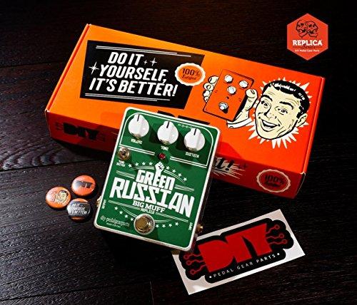 diypedalgearparts® Kit Big Muff Green Russian Replica (Kit Muff)