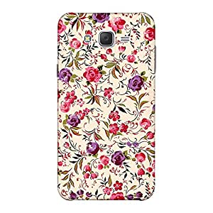 INKIF Roses Painting Designer Case Printed Mobile Back Cover for Samsung Galaxy J5 2015 (Mutlicolor)