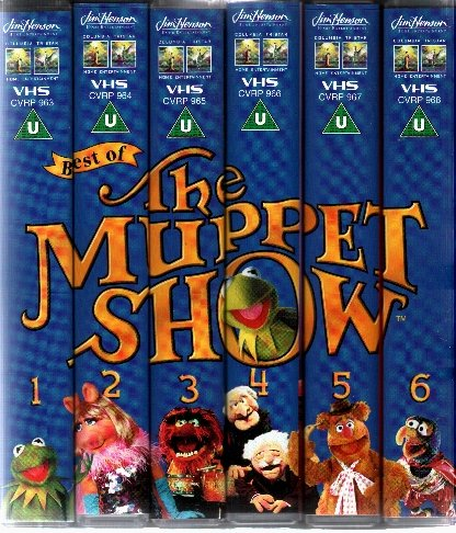 THE BEST OF THE MUPPET SHOW [BOX SET]