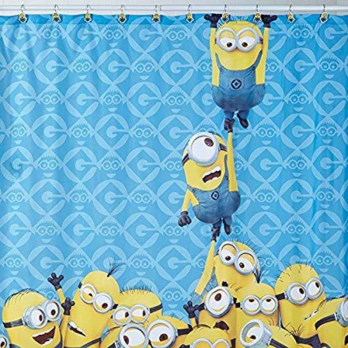 Despicable Me Duschvorhang aus Stoff mit Minions-Motiv