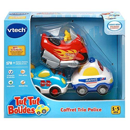VTech A1303731 - Jouet De Premier Âge - Coffret Trio Police - Véhicules Tut...