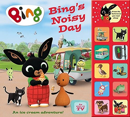 Bing's Noisy Day: Interactive Sound Book (Bing) por BINGS NOISY DAY INTERACTIVE_HB -