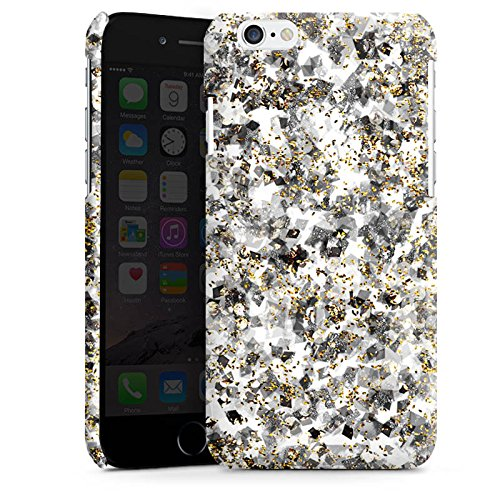 Apple iPhone 4 Housse Étui Silicone Coque Protection Motif Motif Paillettes Cas Premium brillant