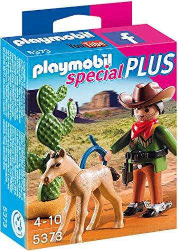 Preisvergleich Produktbild PLAYMOBIL 5373 - Cowboy mit Fohlen