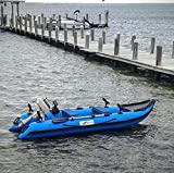 GDDQSDC Kayaks para 2 Personas, Jet Sport Boat 0.9Mm PVC Ocio Barco pesquero