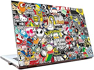 Tamatina HD Quality Laptop Skins/Stickers 15.6-inch for Dell-Lenovo-Acer-HP