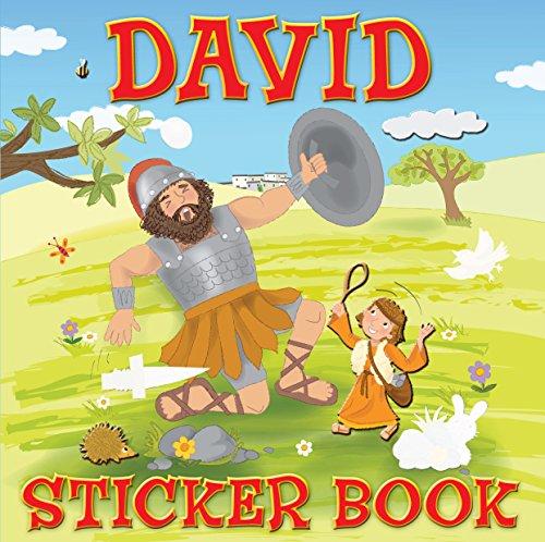 David (Sticker Books)