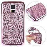 Galaxy S5 Funda Blandas, Galaxy S5 Neo Case Brillar, Moon mood Delgado Piel Caja del Teléfono...