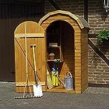 Holz-Geräteschrank Roma klein Gerätehaus Schuppen Schrank