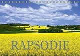 Rapsodie (Tischkalender 2019 DIN A5 quer): Rapsfelder zählen bei Naturfotografen zu den beliebtesten Fotomotive. Dieser