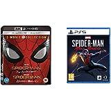 Spider-Man 4K Boxset: Spider-Man Homecoming + Spider-Man Far From Home (Box Set) (4 Blu Ray) + Spider-Man: Miles Morales - St