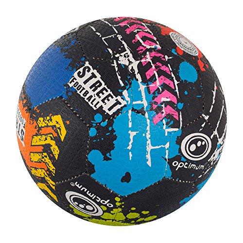 optimal-street-football-ballon-mixte-street-multicolore-taille
