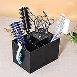 NACHEN Barber Hair Scissor Ständer Salon Pet Groomer Haarspangen Aufbewahrungsbox Frisuren Werkzeug Scheren Halter,Black,16.5x11.5x10.5CM
