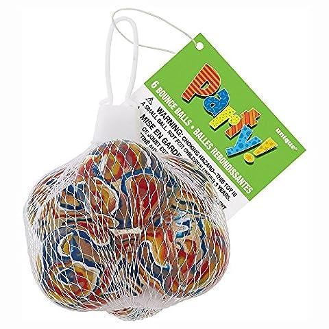 Balles Rebondissantes - Unique Party - 74059 - Paquet de