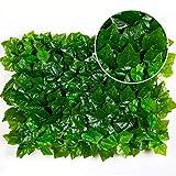 Efeu Künstlich Hängende Rebe Plants Wanddekoration Pflanzenwand Dekoration, 6 Arten, 40 * 60 Cm ( Farbe : E , größe : 4 pieces )