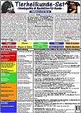 Homöopathie & Bachblüten für Hunde - Tierheilkunde-Karten Set: Homöopathie für Hunde /Homöopathische Notfallkarte für Hunde & Katzen /Bachblüten-Karte ... & Pferde