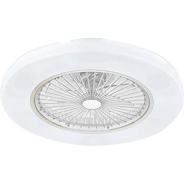 RGB LED VENTILATORE A SOFFITTO VENTOLA RADIATORE Cucina Lampada Vetro Luce Telecomando