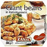 Zanae Judías En Tomate Y Salsa De Cebolla 280g (Paquete de 6)