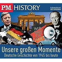 P.M. HISTORY - Unsere großen Momente. Deutsche Geschichte von 1945 bis heute, 5 CDs