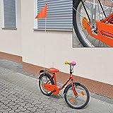 Bike (Fahrrad) Sicherheits-Flag Orange 1 St. / S