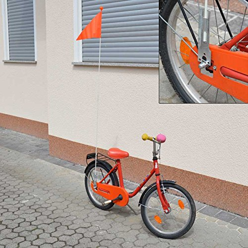 Bike (Fahrrad) Sicherheits-Flag Orange 1 St. / S
