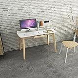 ZZHF Computer Schreibtisch Massivholz Desktop Computer Schreibtisch Startseite Einfache Schreiben Kleine Schreibtisch Tisch Mit Schublade Größe Optional Schreibtische (größe : 100cm)