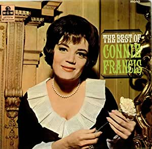 Connie Francis The Best Of 1967 UK vinyl LP MGM-C-8041