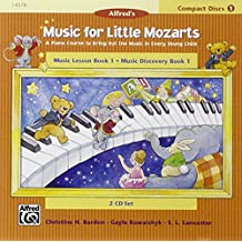 Music for Little Mozarts 2-CD Sets for Lesson and Discovery Books, Level 1