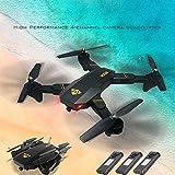 QUINTRA VISUO XS809HW RC Quadcopter Wifi FPV Faltbare Selfie Drone 2MP 3 Batterie
