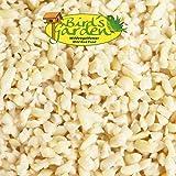 25 kg ERDNUSSKERNE weiss blanchiert gehackt Marke Bird´s Garden SaMore Erdnüsse Fettfutter Vogelfutter