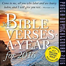 365 Bible Verses-A-Year for 2016 (2016 Calendar)