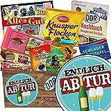 Endlich Abitur | Schokoladen Paket | Geschenk Ideen | Endlich Abitur | Schokoladenbox | Endlich Abitur | INKL DDR Kochbuch