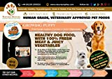 NATURES REPLIES: Natural Healthy Human Grade Veterinary Approved Grain Gluten Rice Free Best GROWING PUPPY Dog Food Free Range Anglian CHICKEN in 6Kg Bags. Aids Joints and Bones Mobility Cognitive Function Visual Development Reduces Inflammation Hypoallergenic Pet Foods Nutrition Clean Dog Food Mats & Bowls. Use as Kibble Edibles or Healthy Treats for ALL Breeds and Dog Training. ONLINE FREE FAST DELIVERY